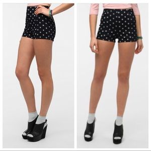 Urban Outfitters | Kimchi Blue Denim Dot Shorts 10